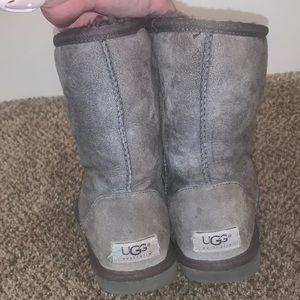 Women's Grey Original Short Uggs
